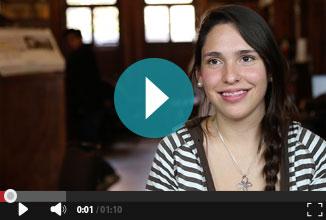 Hanna alumna del programa CCH